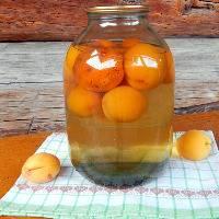 Абрикосовый компот из абрикосов на 3 литровую банку на зиму