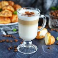 Кофе латте макиато в домашних условиях