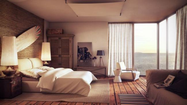 rustic-wood-on-wall-decor-then-hardwood-flooring-decor-set-interior-beach-house-colors-striped-sofas-color-decor-dark-coffee-table-decor-white-headboard-color-set-floral-cushion-designs.jpg