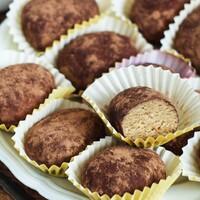 Пирожное без выпечки из печенья Картошка