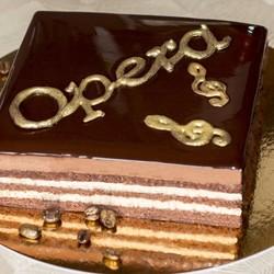 Торт Опера шоколадный бисквит