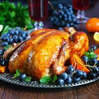 Курица с золотистой корочкой в карамели в духовке