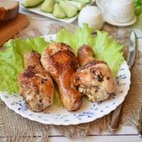Голень куриная на сковороде с хрустящей корочкой