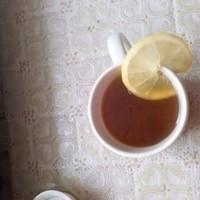Чай с имбирем лимоном и яблоками