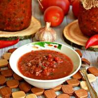 Салат Кобра на зиму из помидор