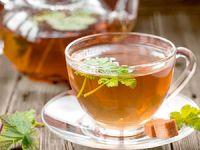 Чай из листьев смородины