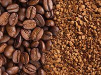 Зерновой и растворимый кофе