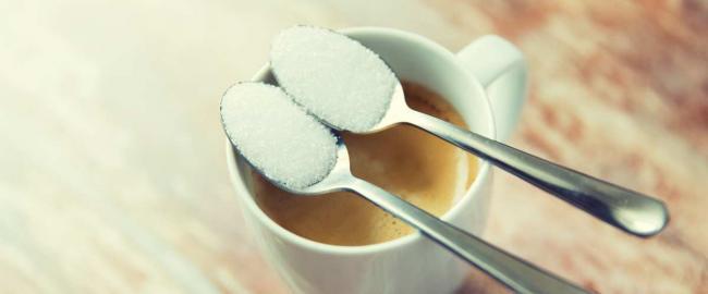 Сколько калорий в 2-х чайных ложках сахара