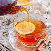 Чай с корицей
