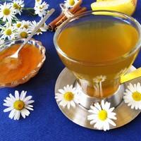 Чай по-швейцарски с ромашкой