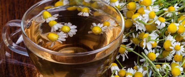 Как приготовить чай из ромашки?