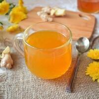 Чай с куркумой и имбирем