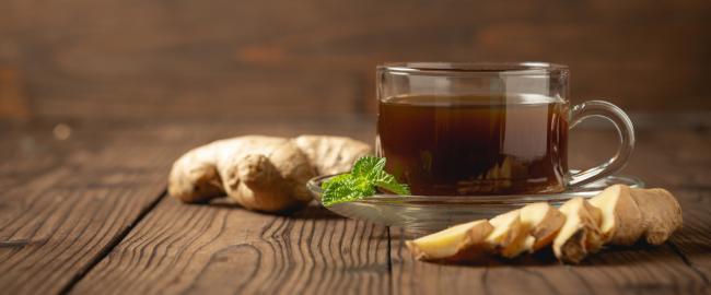 Рецепт чая с имбирем от простуды